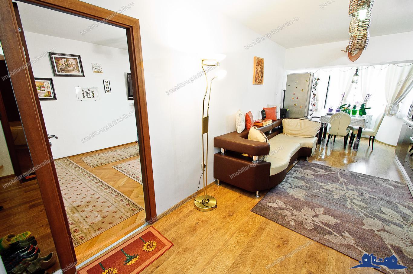 vanzare apartament 2 camere in galati piata centrala
