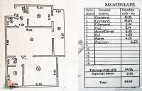 apartament cu 2 camere situat in Galati, cartier  Micro 16