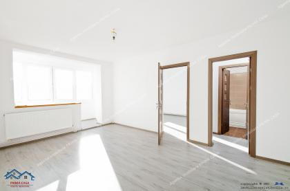 oferta de vanzare a unui apartament semidecomandat cu 2 camere situat in Galati, cartier Micro 19, aproape de Str. Brailei